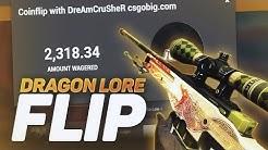 INSANE DRAGON LORE COIN FLIP (CSGOBIG)