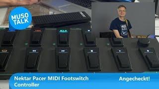 Nektar Pacer MIDI Footswitch Controller - Angecheckt!
