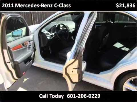 2011 mercedes benz c class used cars jackson ms youtube for Used mercedes benz jackson ms
