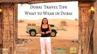 What To Wear In Dubai   Dubai Travel Tips
