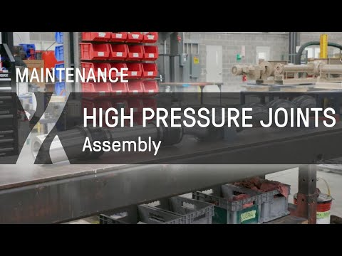 SEEPEX Progressive Cavity Pumps | Assembly of High Pressure Joints