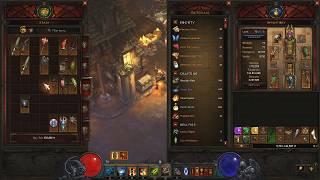 Diablo 3, S18, WD -- 313 Solo Greater Rifts 104