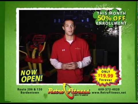 RETRO FITNESS of Bordentown NJ - Why Retro 2011 March TV Ad