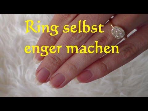 Lifehack: Ring selbst verkleinern - Ring selbst enger machen - Ringgröße ändern