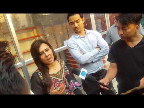 President of Nepal film development board Nikita poudyal explain about Box office
