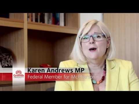 Karen Andrews MP visits Griffith Sciences