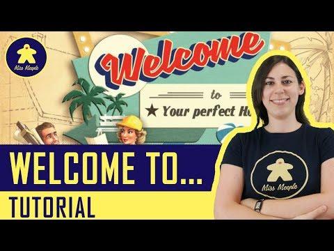 Welcome To... Tutorial - Gioco da Tavolo - La ludoteca #71