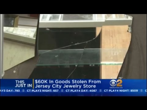 $60K In Goods Stolen From Jersey City Jewelry Store
