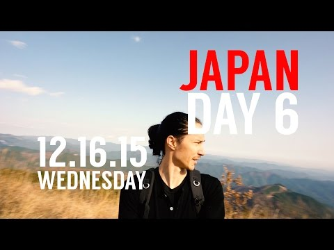 Robby's VLOG // Japan Day 6 // Hiking Bonomine, a Japanese Mountain