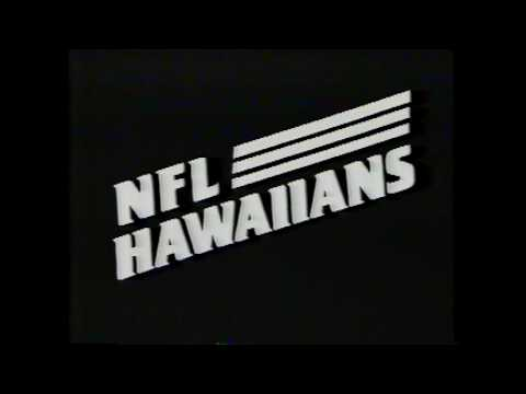 1987 NFL Hawaiians