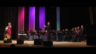 Карибский каприз - Мария Селезнева - аккордеон- Русский оркестр дирижер Василий Кормишин