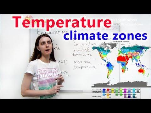 """INTERMEDIATE LESSON 3 """"TEMPERATURE. CLIMATE ZONES"""""""