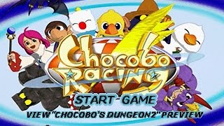 PSX Longplay [380] Chocobo Racing
