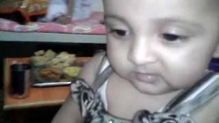 "cute baby screaming and laughing ""Pari"""""