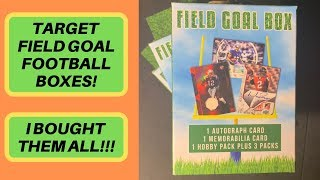 I Bought *ALL* of Target's Field Goal Football Boxes...AGAIN!
