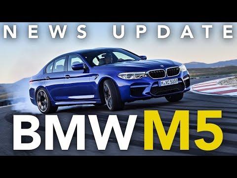 2018 BMW M5, Volkswagen T-Roc, Lamborghini Huracan Safari, Ferrari Portofino: Weekly News Roundup