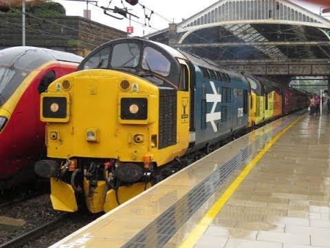 "37219 TNT 37025 on 1Z38 1Z39 Blackpool North - Blackpool North ""The Farington Reverser"" 01/07/2017"