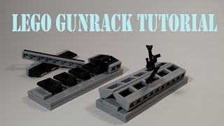 How To Build A Lego Gunrack | Tutorial