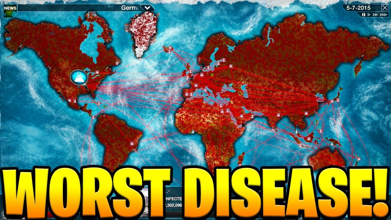 THE WORST DISEASE EVER - Plague Inc Evolved image