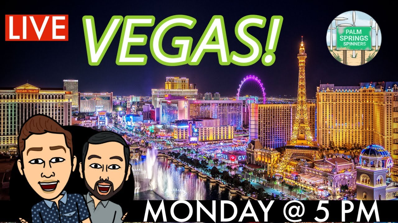 🔴 LIVE FROM LAS VEGAS🎰 Slot Play with The Palm Springs Spinners!