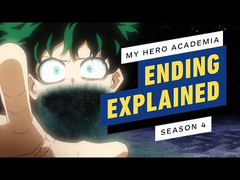 My Hero Academia Season 4 Finale Ending Explained