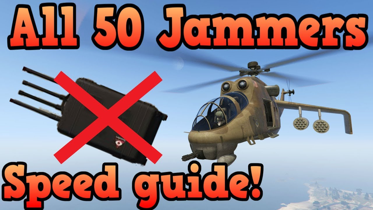 All 50 Signal Jammer Locations Realtime Speedrun Guide Gta Online