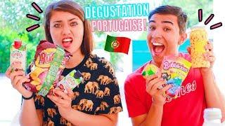 DÉGUSTATION DE PRODUITS PORTUGAIS ?!! Jonathan Et Amandine