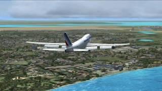 FSX Paris - Sinagpore by Air France Cargo HD