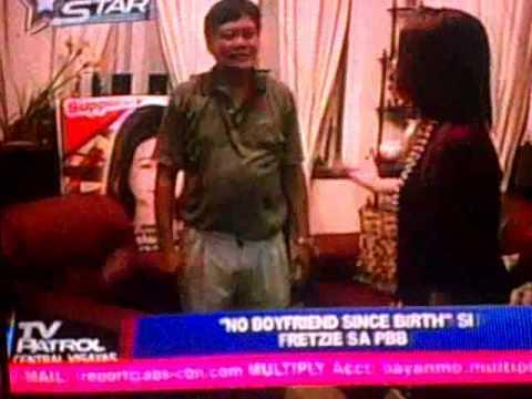 TV Patrol Central Visayas features Fretzie Bercede of PBB