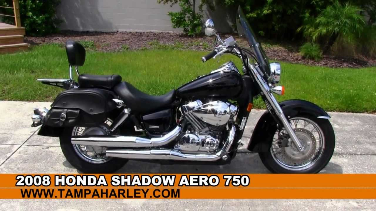 used 2008 honda motorcycle shadow 750 for sale in tampa miami