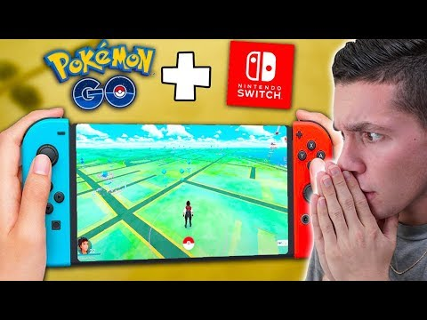 PLAYING POKÉMON GO ON THE NINTENDO SWITCH?