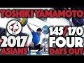 Toshiki Yamamoto (85kg, Japan) - Snatch + Power Clean & Jerks (4 Days Out)