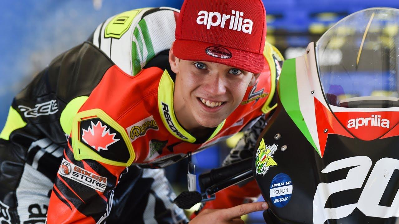 Aprilia Racing FMI Sport Production - La preparazione dei piloti