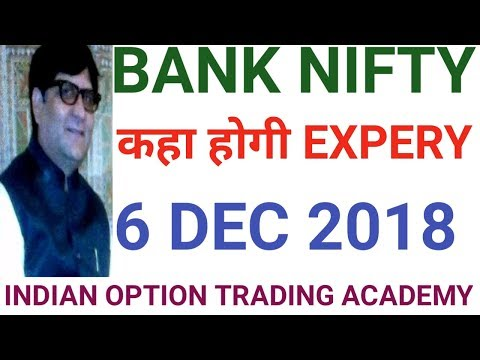 BANK NIFTY KAHA HOGI EXPERY 6 TH DEC  2018
