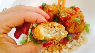 Orange Chick'n Protective Diet Style