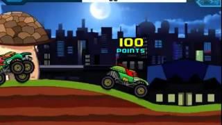 Бесплатные игры онлайн  Черепашки ниндзя гонки на тачках