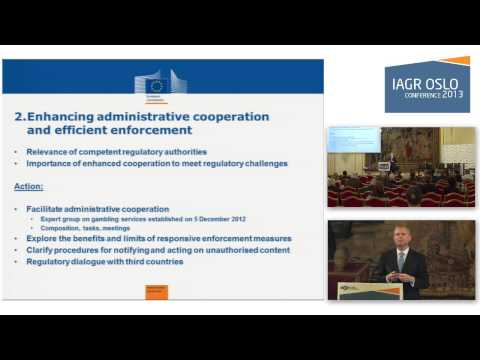 IAGR Oslo2013 - session 5b: The EU Action Plan on Online Gambling: One Year After