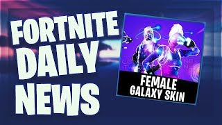 Fortnite Daily News *WEIBL.* GALAXY SKIN & SHOP CONCEPT (05 March 2019)