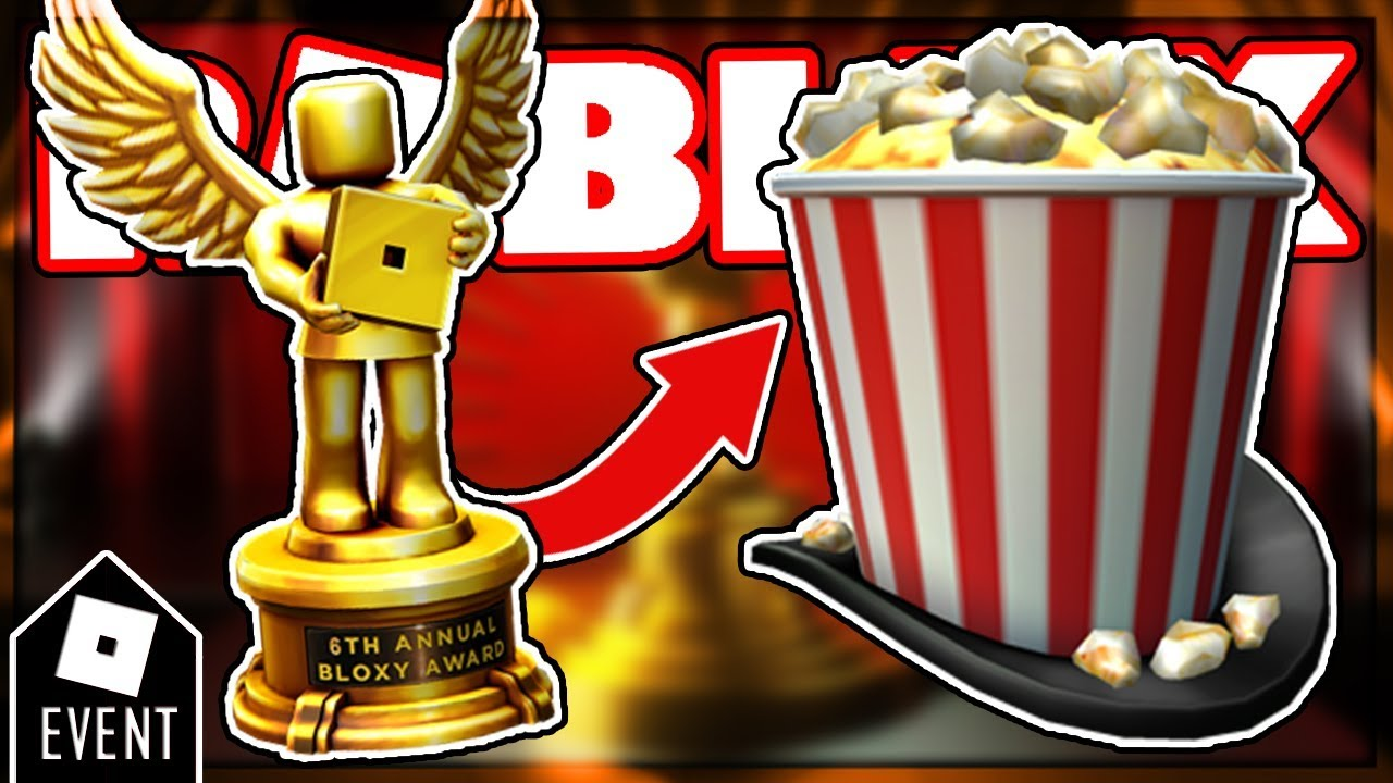 HOW TO GET THE SHOWTIME BLOXY POPCORN HAT | NEW ROBLOX ...