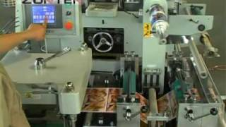 Roll Roll Continuous Adhesive Label Die Cutting Machine MQ 320