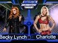 WWE 2K16 SmackDown Charlotte vs Becky