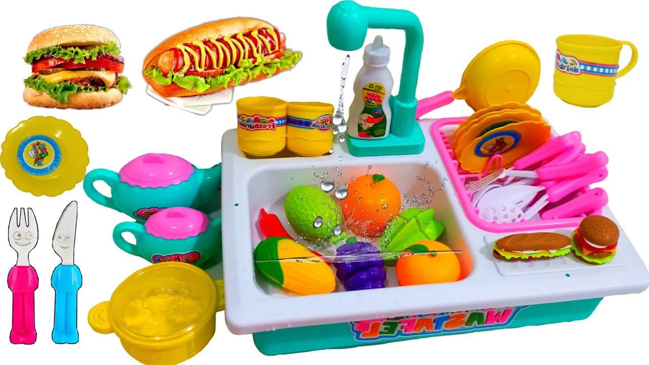 Drama Ibu Hamil Jualan Makanan Buahan Mainan Masak Masakan Anaknya Sedih Minta Mainan Barbie Youtube
