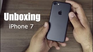 Unboxing iPhone 7 ( Brasil PT-BR )