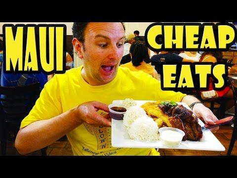 Best Cheap Eats in Maui Hawaii