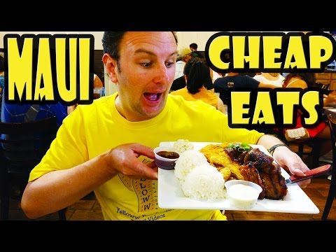 Best Cheap Eats In Maui Hawaii
