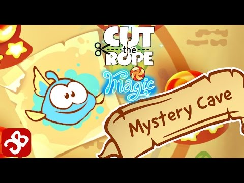 Cut The Rope: Magic - Mystery Cave (By ZeptoLab) - 3 Star Walkthrough