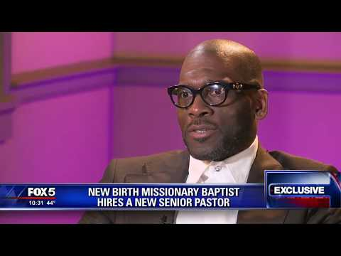 New Birth's New Pastor Interview - Part One