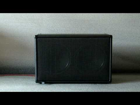 Ear Candy 2x12 guitar speaker cabinet test clean blues tones