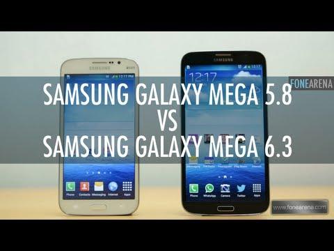 Samsung Galaxy Mega 5.8 Vs Samsung Galaxy Mega 6.3