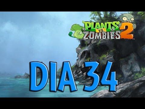 Plants Vs Zombies 2 - [Mares Piratas / Dia 34]